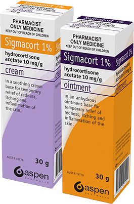 sigmacort cream and ointment packshot